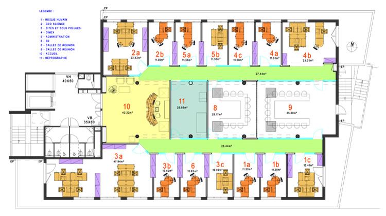 amenagement de bureaux lyon architecte lyon ouest. Black Bedroom Furniture Sets. Home Design Ideas