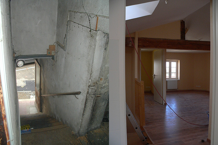 Rénovation maison d'architecte
