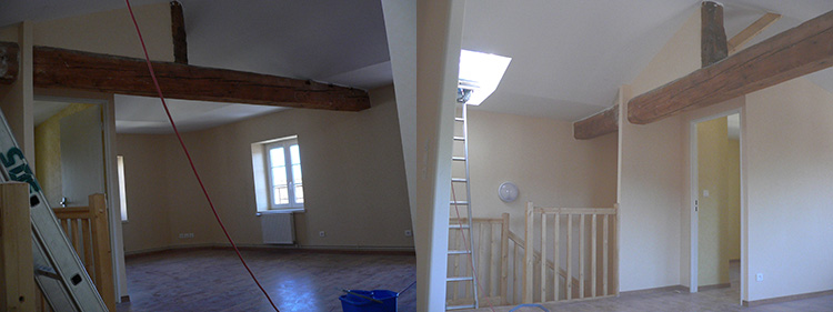 Rénovation maison Lentilly